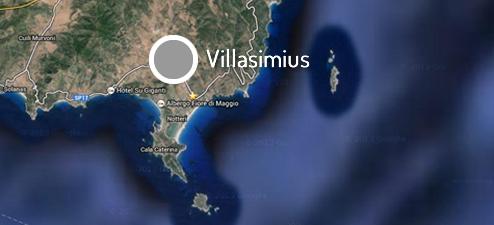 Villasimius Cartina Sardegna Sud.Villasimius Sardegna Domu Noa Hotel Villasimius Albergo Nel Sud Sardegna Hotels Villasimius